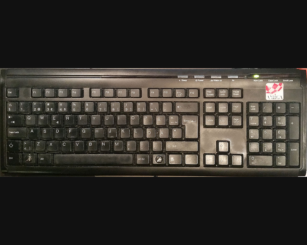 My Amiga keyboard